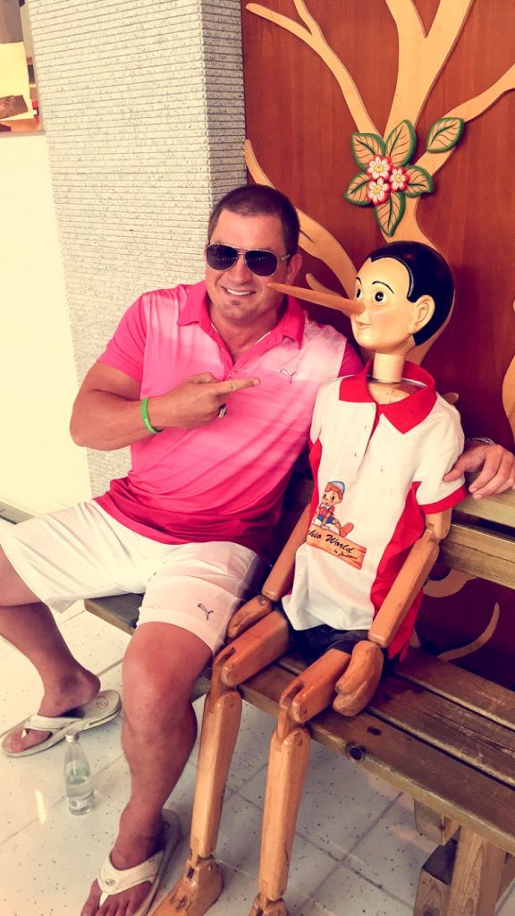 Jason guck and pinochio