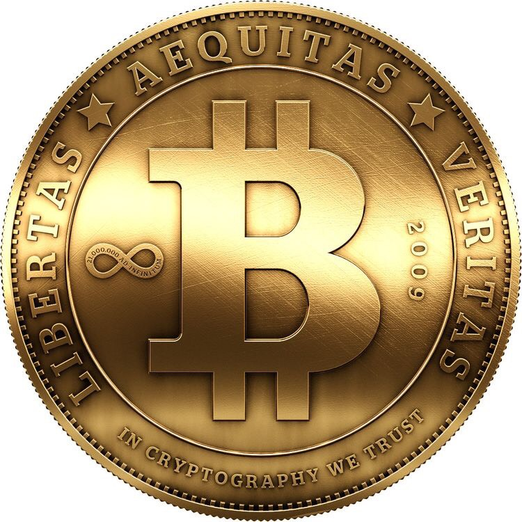 bitcoin-coin-golden